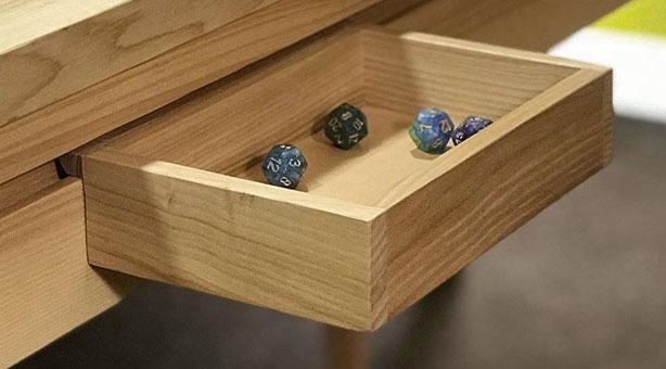 Large wooden Bin
