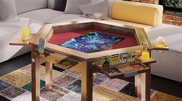 Game Table Megan Hex
