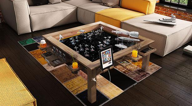 Game Table Megan Coffee