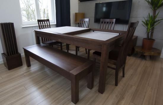 Denis Game Table – Walnut