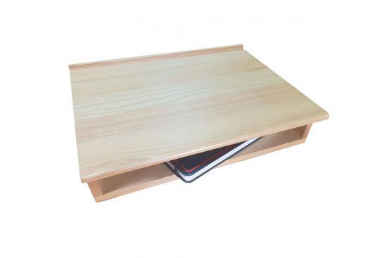 Desk with Shelf